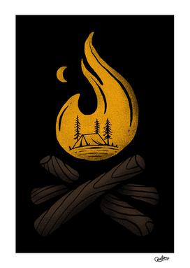 Camp & Bonfire