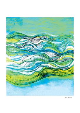 The ocean waves 1