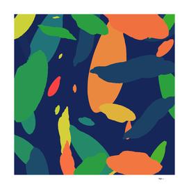 Pattern Abstrait Formes Colors