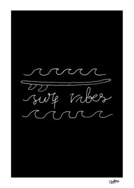 Surf Vibes Typo