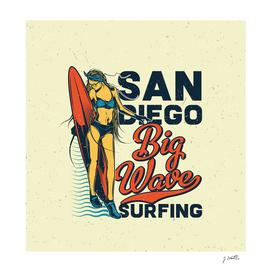 San Diego Big Wave Surfing
