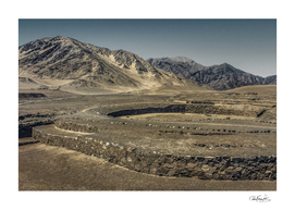 Pre Columbian Caral City, Peru