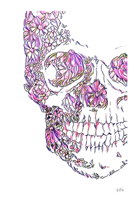 The Skull of Florals