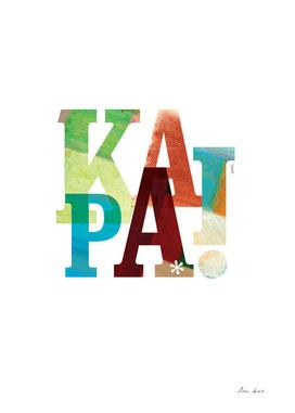 Ka_pai_A3_poster