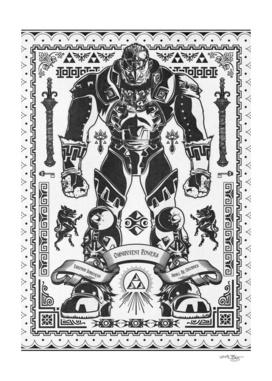 The Triforce of Power Ganondorf