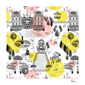 The Park pattern design