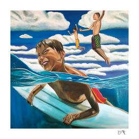 SURFING KIDS