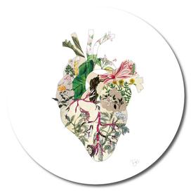 Vintage Botanical Heart