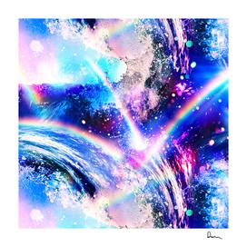 Crystal Wave pattern design