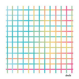 grunge striped colorful lines pattern