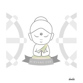 Nirvana day or Parinirvana day- February 8th