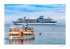 LIfeboat and Celebrity Infinity