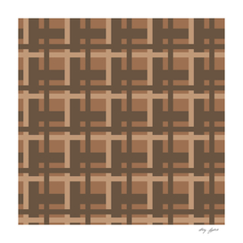 Plaid -- Brown