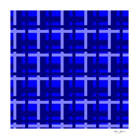 Plaid -- Blue