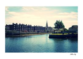 Dublin Grand Canal Docks