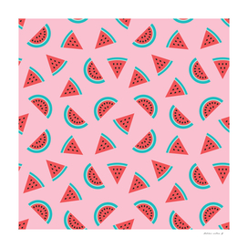 Watermelon Fruit Pattern
