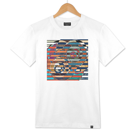 Modern Abstract Shapes Avangard Style Lines Stripes