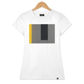 Black, gray and yellow