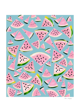 Watermelon Twist Vibes #5 #tropical #fruit #decor #art