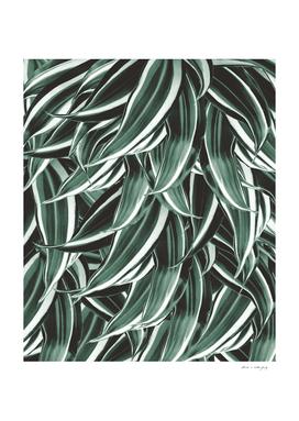 Tropical Greenery #1 #green #pattern #decor #art