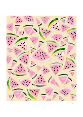 Watermelon Twist Vibes #6 #tropical #fruit #decor #art