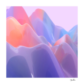 Abstract Swirl Pastel