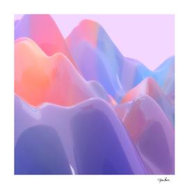 Abstract Swirl Pastel