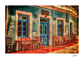 Greek Sidewalk Cafe