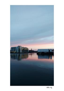 Grand Canal Dublin Sunset