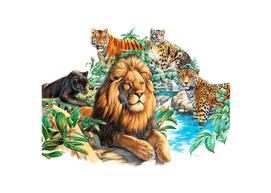 Big Cat Collage