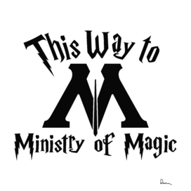 This way to ministry of magic magic parody