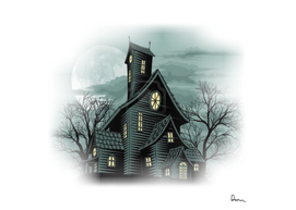 House Haunted House Ghost Building