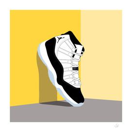 Jordan XI Illustration