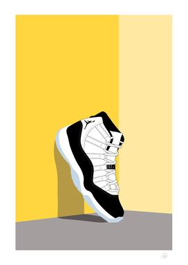 Jordan XI Illustration Vertical