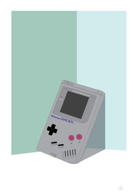Gameboy Illustration Vertical