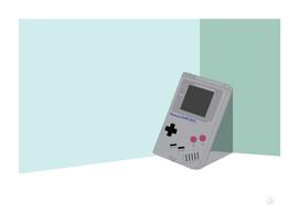 Gameboy Illustration Landscape