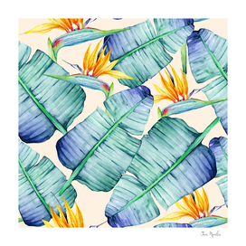 Fancy Tropical Pattern