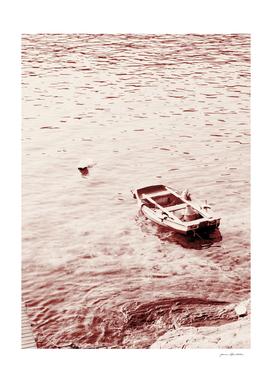 Monochrome beach days Boat
