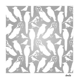 Wild birds mosaic effect- Birds of America