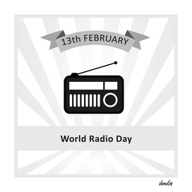 World Radio Day February 13th