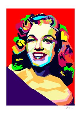 Marilyn Monroe - WPAP Style