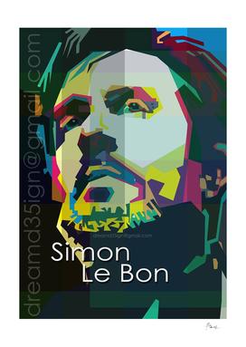 Simon Le Bon - WPAP Style