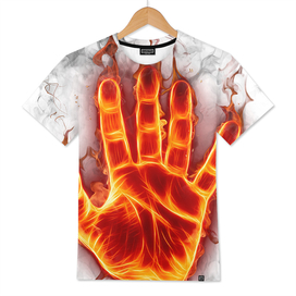 fire flame hand