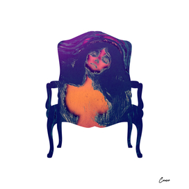 Lady Madonna Munch Chair
