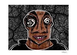 Zombie Man Drawing
