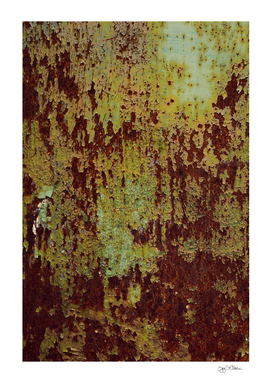 Pretty Green Abstract Texture I