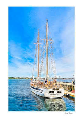 Mar Sailboat in Halifax