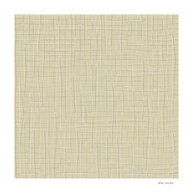 Grey threads on yellow ochre