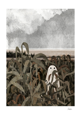 There's a ghost in the cornfield again...