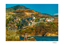 Taganga Town Landscape, Colombia